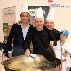 Pasquale Mancini e Mario Lamanuzzi per Telethon