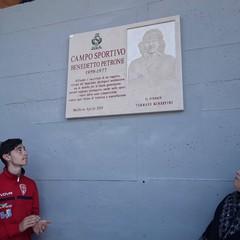 Il campo sportivo di Molfetta per ricordare Benedetto Petrone