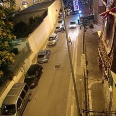 Auto in divieto su Via Mininni
