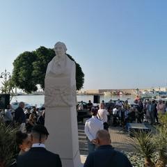 Inaugurazione stele di Giuseppe Saverio Poli