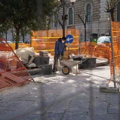 Lavori a Corso Umberto