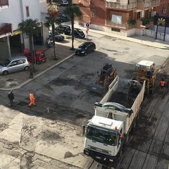 Lavori asfalto Rione Paradiso
