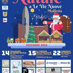 Manifesto Natale a Le Vie Nuove Molfetta
