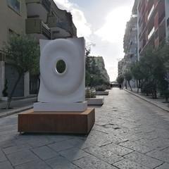 Sculture su Corso Umberto