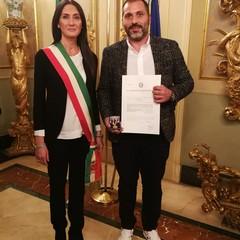 Medaglia d'oro a Gianni Carnicella
