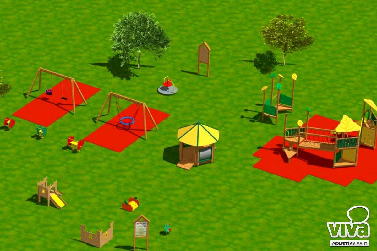 parco di mezzogiorno area giochi