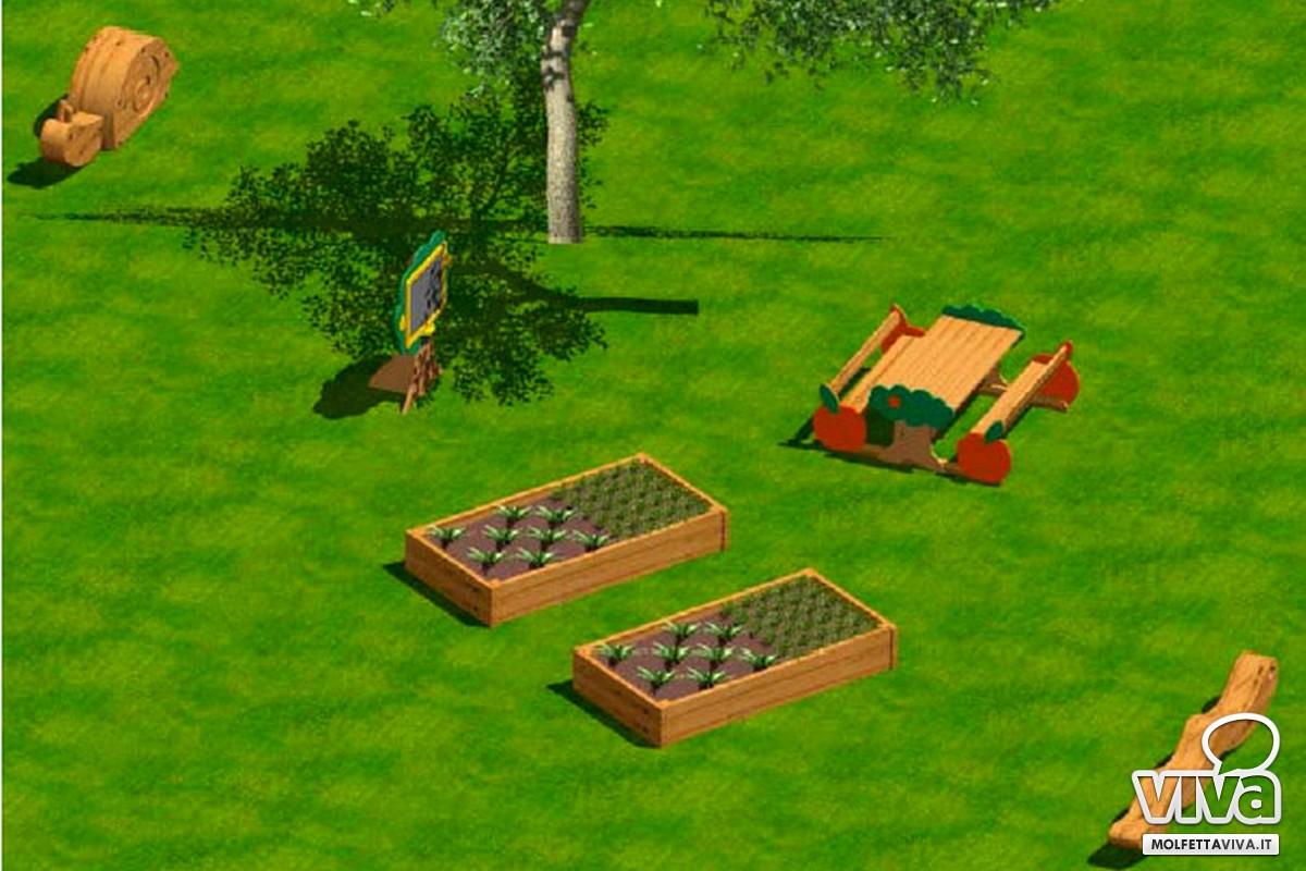 parco di mezzogiorno orto didattico