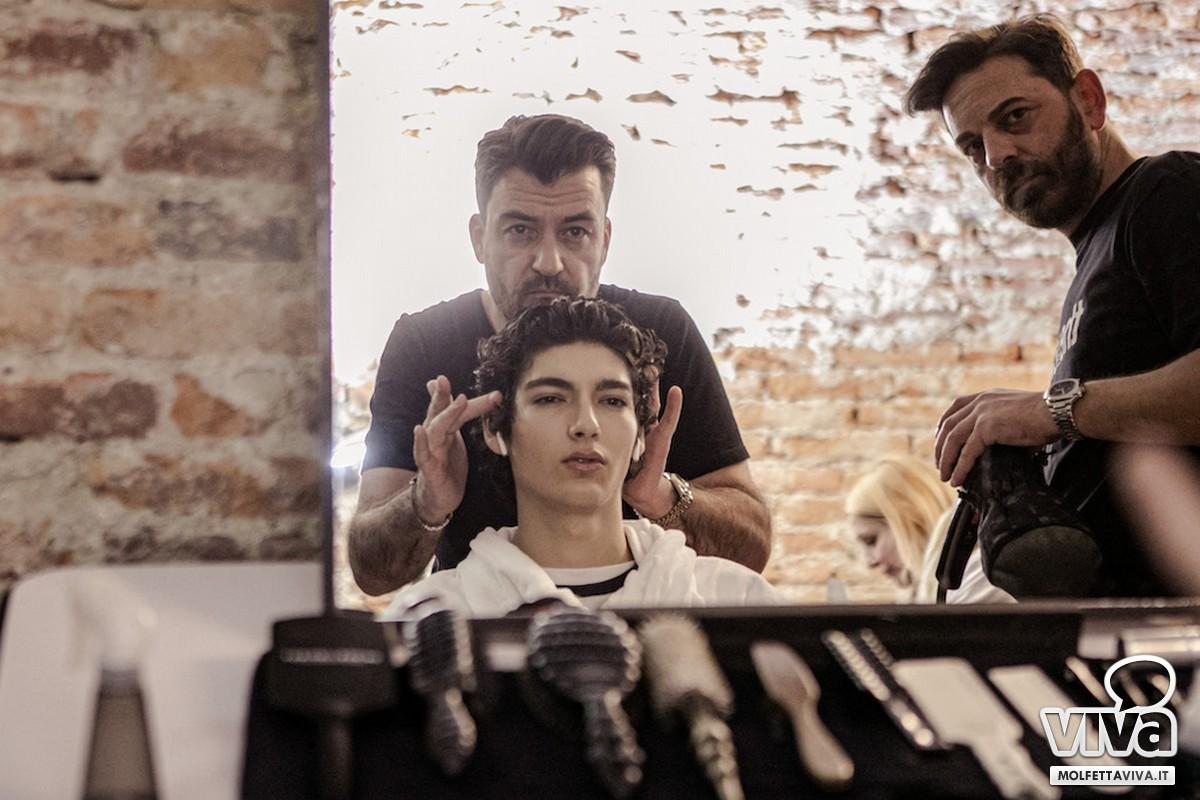 Salvo Binetti alla Milano Fashion Week