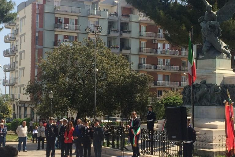 In Villa Comunale le celebrazioni per il 25 aprile
