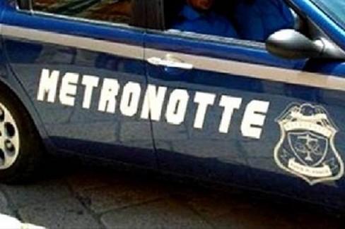 Una pattuglia della Metronotte
