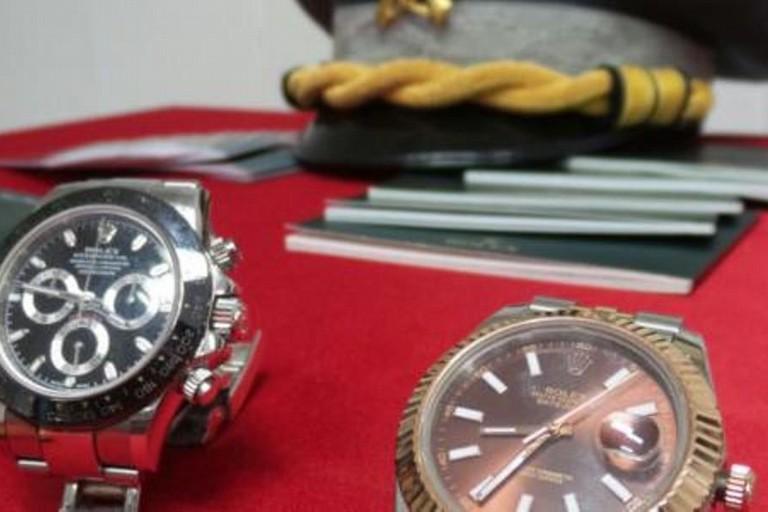 La truffa dei finti Rolex