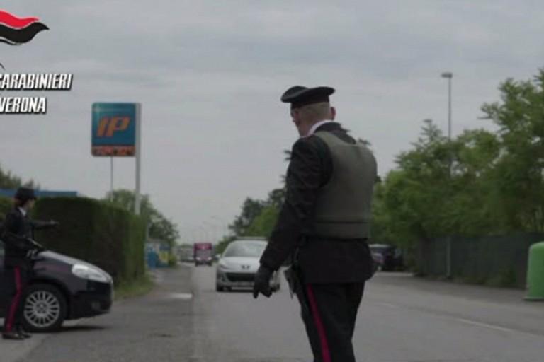 Il blitz dei Carabinieri