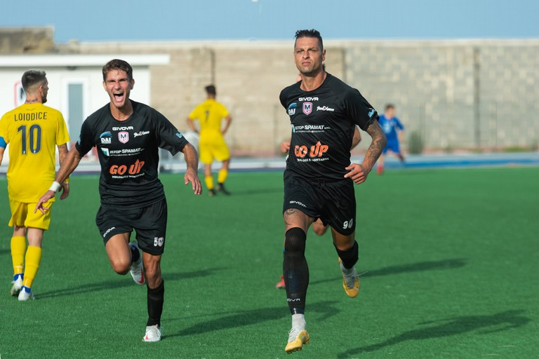 Prima vittoria in campionato per la Molfetta Calcio: 3-1 al Brindisi