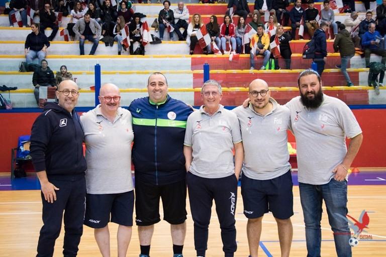 Staff tecnico Futsal Molfetta
