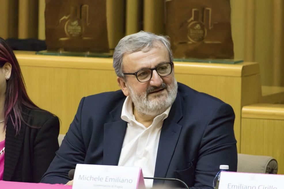 Michele Emiliano (Foto Vincenzo Bisceglie)