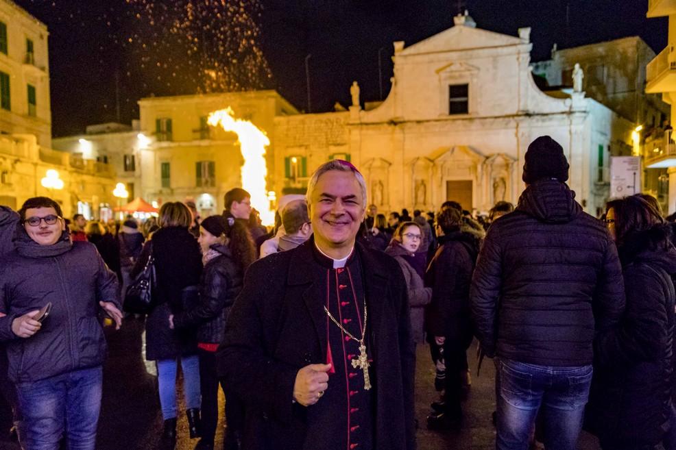 Vescovo Cornacchia. <span>Foto Vincenzo Bisceglie</span>