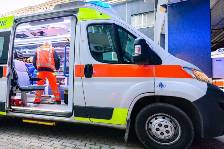 L'ambulanza del 118