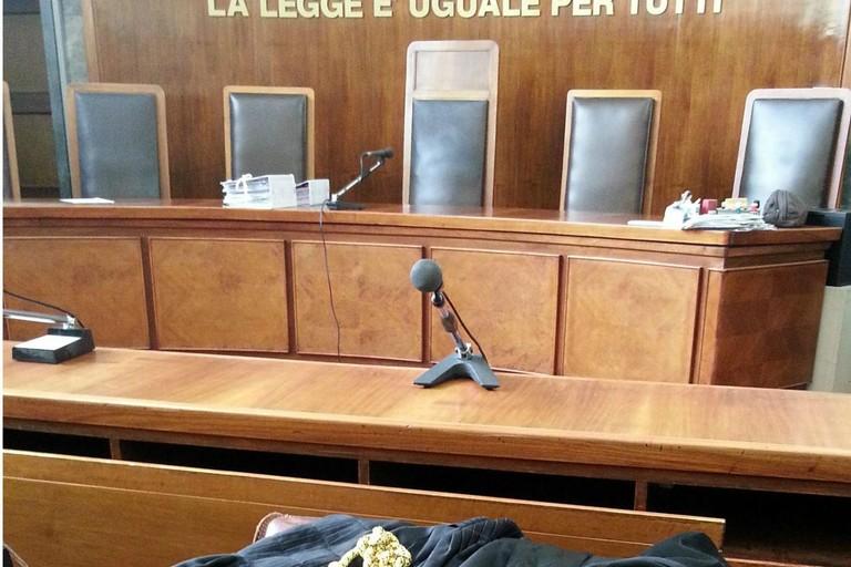Un'aula del Tribunale
