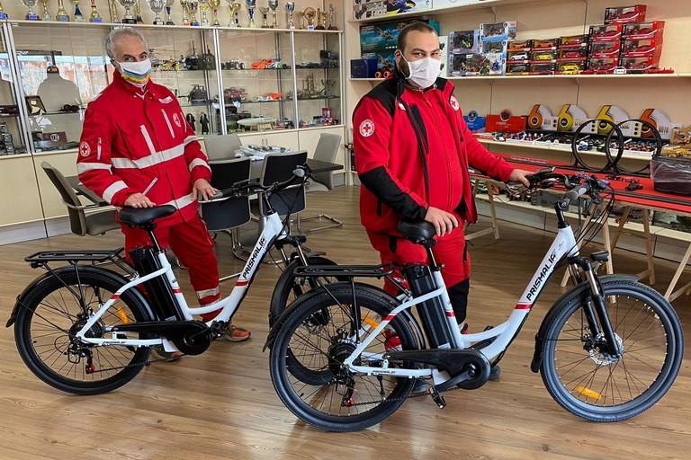 Biciclette Croce Rossa