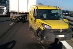 Due incidenti sulla 16 bis: rallentamenti fra Molfetta e Giovinazzo