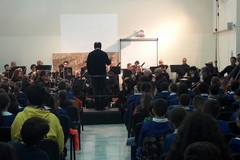 L'orchestra Sinfonica di Bari in concerto alla scuola Poli - LE FOTO