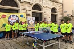 """""""Tennistavolo nelle piazza"""" a Molfetta con l'Azzurro"""