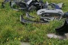 Pezzi d'auto nei campi: a scoprirli le Guardie Ecozoofile Protezione Ambientale