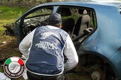 Auto rubata a Molfetta rinvenuta cannibalizzata a Corato