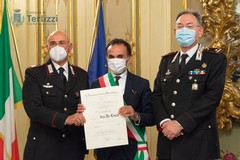 Il maresciallo Vito De Lucia è Ufficiale al Merito della Repubblica