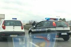 Due auto si scontrano: incidente sulla 16 bis