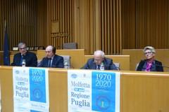 Cinquant'anni del Consiglio Regionale, lo Sporting omaggia i consiglieri di Molfetta