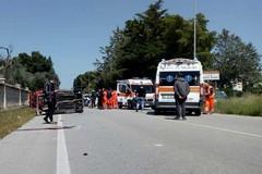 Grave incidente sulla strada provinciale Molfetta-Terlizzi