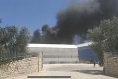 Incendio di una Serra