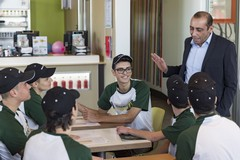 """Al via il progetto tra McDonald's e istituto """"Mons. Bello"""""""