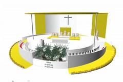 Verso il 20 aprile: a breve i lavori per la costruzione dell'altare con vista sul porto
