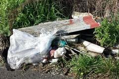 Il Comune: Conclusa la rimozione di rifiuti contenenti amianto