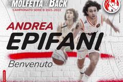 La Pallacanestro Molfetta annuncia Epifani: è il primo rinforzo per la nuova stagione