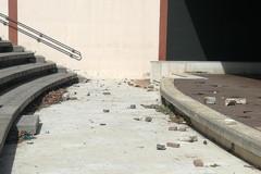 Atti vandalici all'Anfiteatro di Ponente, aggiudicati i lavori