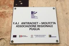 Arresti per estorsione a Molfetta, la soddisfazione dell'Associazione Antiracket