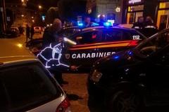 Auto dei Carabinieri tamponata nei pressi della Villa comunale