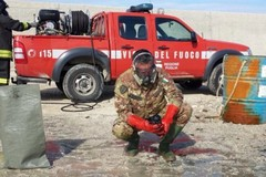 Continua la bonifica dalle bombe delle acque nel porto di Molfetta