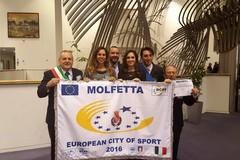 Cerimonia di presentazione della bandiera  di Molfetta Città Europea dello Sport 2016
