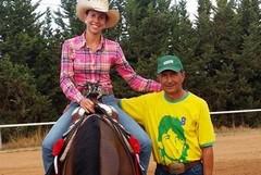 Caterina Minervini trionfa alla 4 tappa regionale di equitazione, specialità Reining