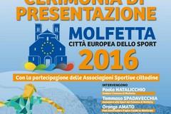 Molfetta città europea dello sport 2016: oggi la presentazione ufficiale