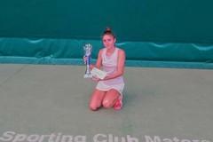 Estate ricca di successi per la tennista molfettese Claudia Frisario
