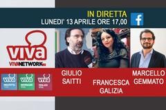 Galizia, Gemmato e Saitti in diretta su Viva Network