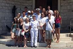 """Il gruppo """"Erasmus +"""" visita la Capitaneria di Porto"""