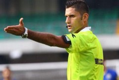 Eugenio Abbattista al Var in Spal - Frosinone