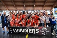 """Aquile, è """"triplete"""": i molfettesi vincono la Coppa Italia"""