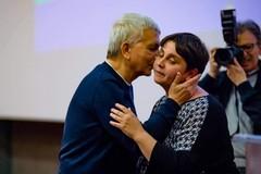 Da Nichi Vendola l'investitura a Paola Natalicchio: «Io voto lei»